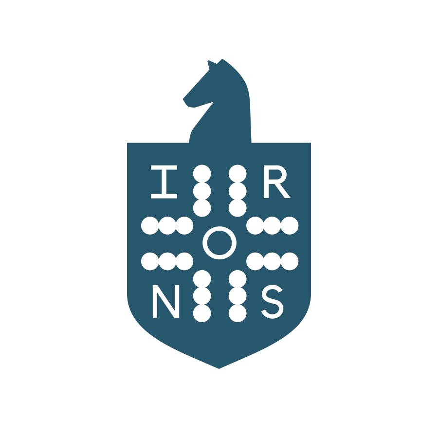 Irons Shield logo design by logo designer Malt