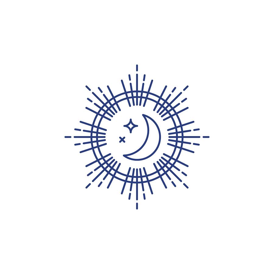 Moonshine Farms LogoMark logo design by logo designer Braizen