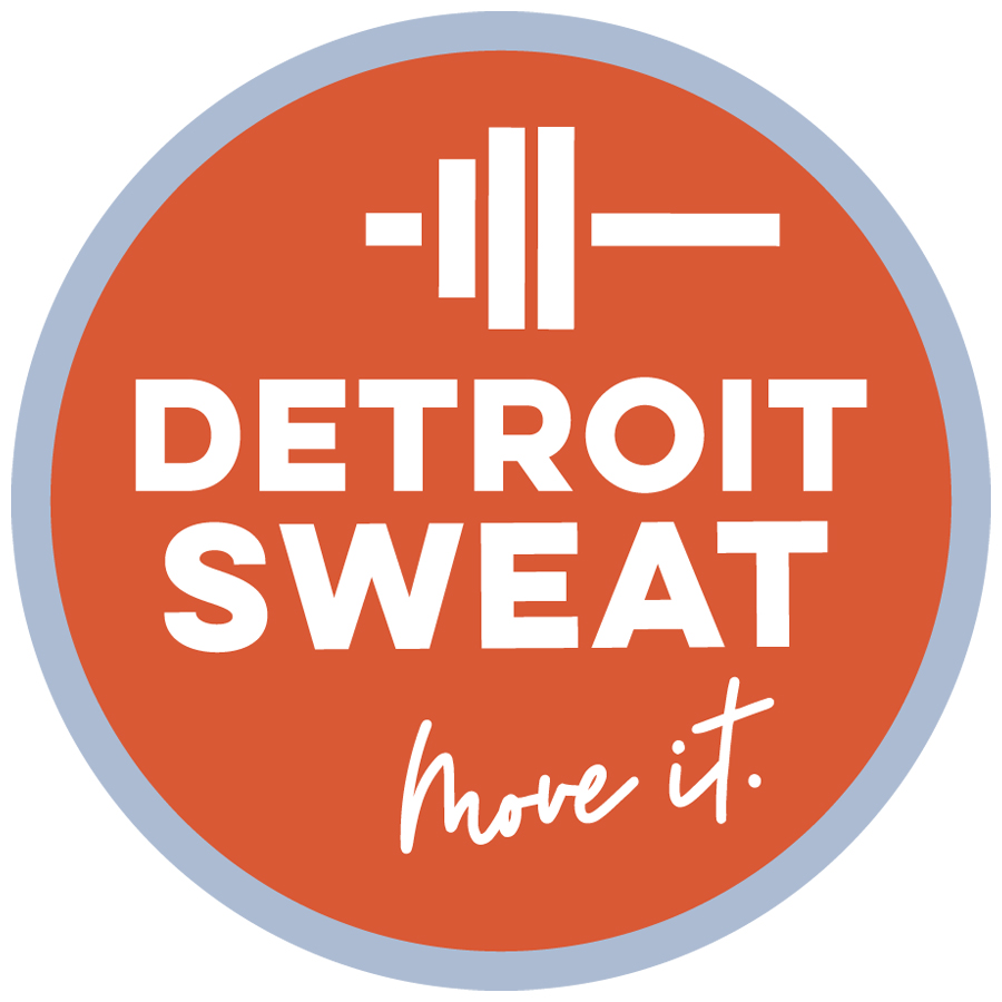 detroit sweat logo_white logo design by logo designer OneFish Creative for your inspiration and for the worlds largest logo competition
