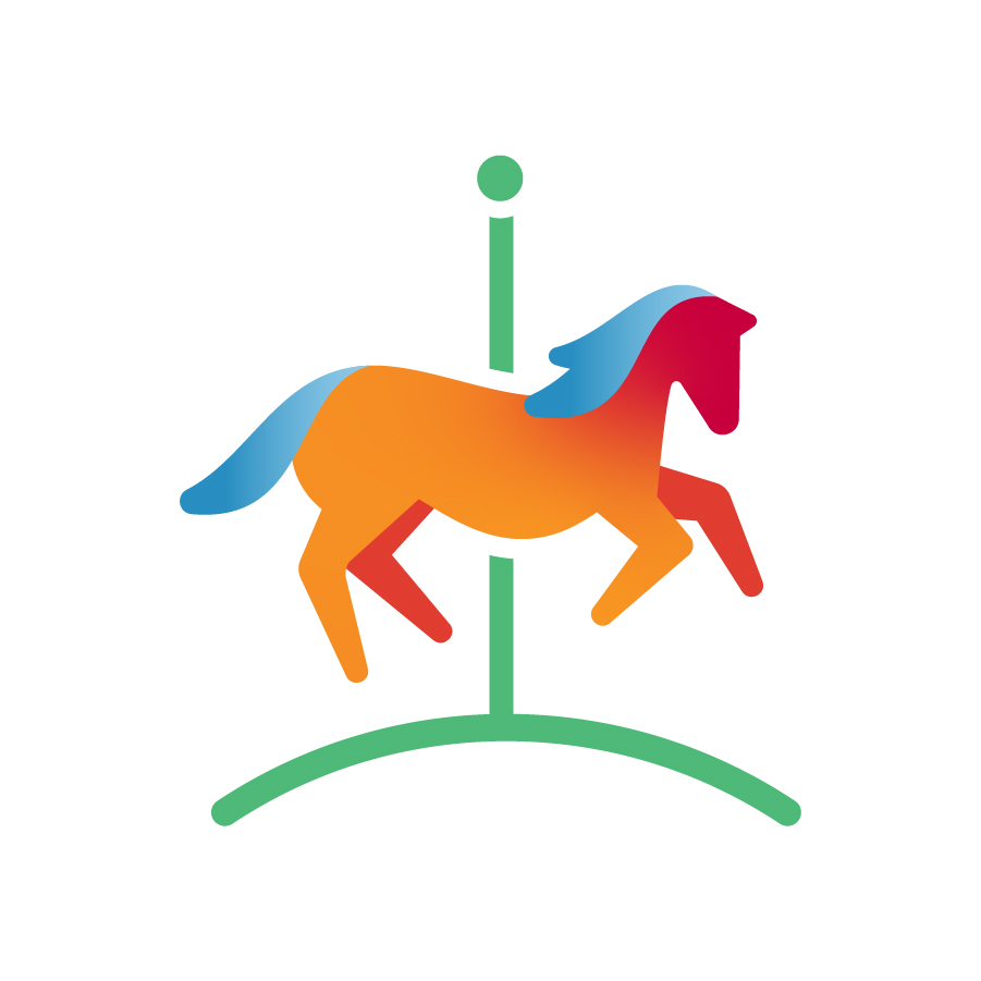 Carousel logo design by logo designer Koch Communications Marketing for your inspiration and for the worlds largest logo competition