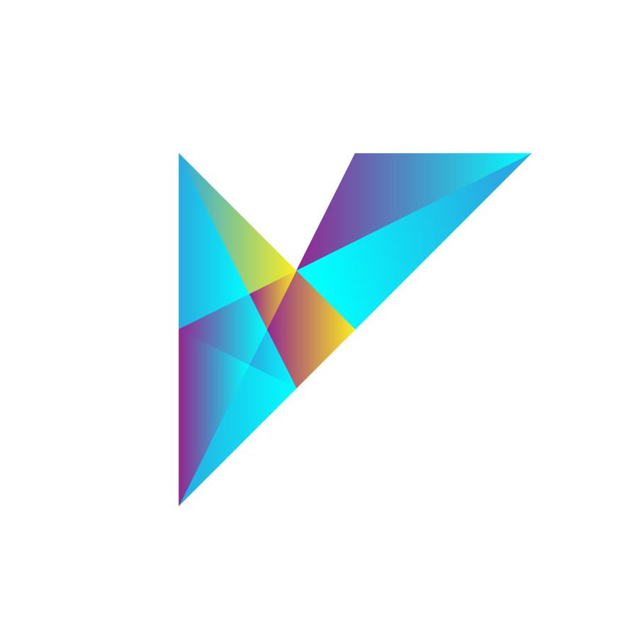 V_unused logo design by logo designer Fogra Design