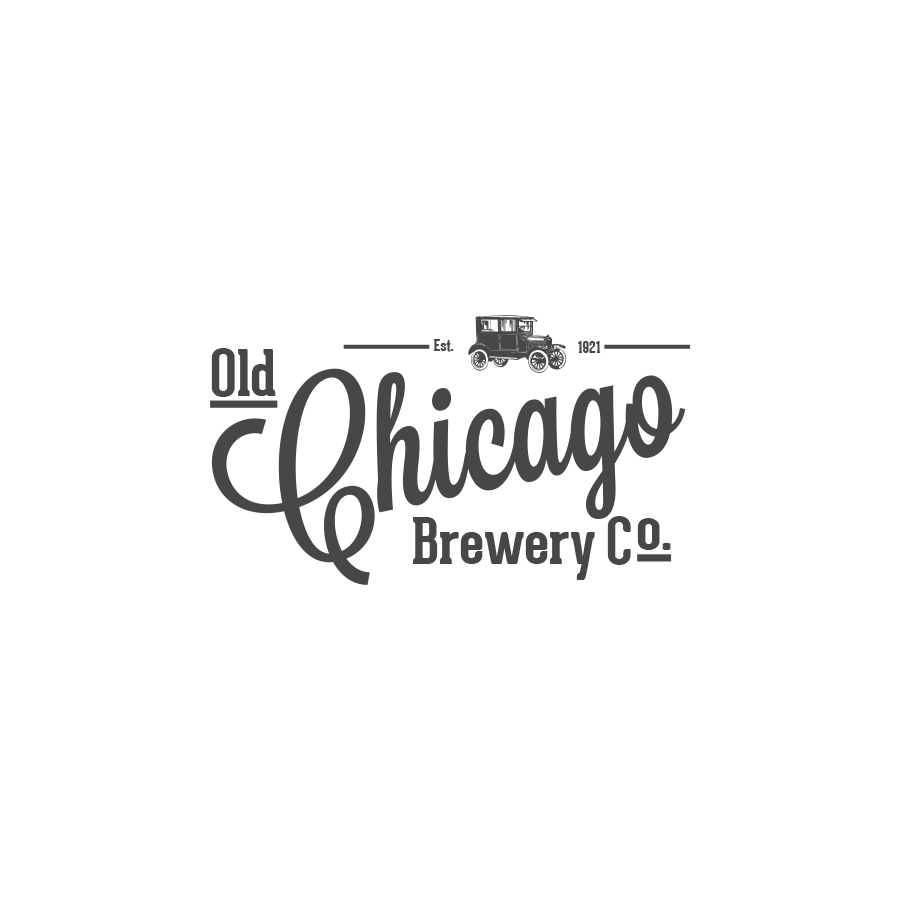 Old Chicago Brewery Co. logo design by logo designer JJ Lee Design for your inspiration and for the worlds largest logo competition