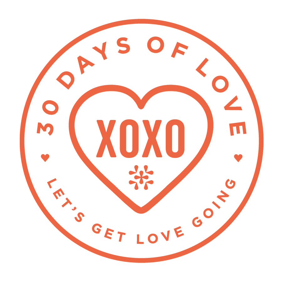 30 Days of Love logo
