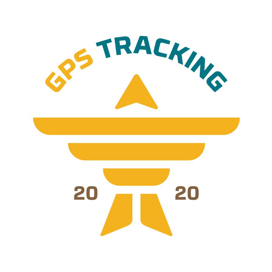 GPS Tracking Crest Logo
