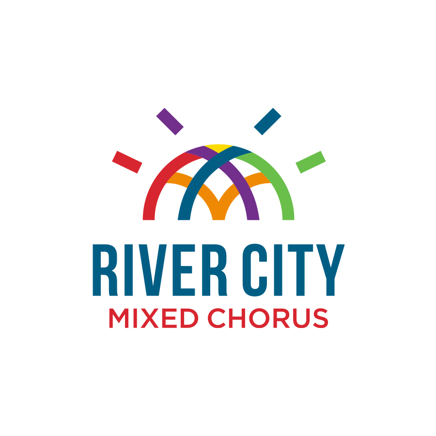 River City Mixed Chorus Center Logo logo design by logo designer Wheelhouse Collective for your inspiration and for the worlds largest logo competition