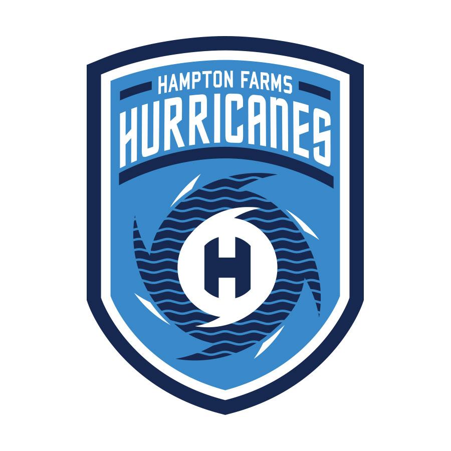 Hampton Farms Hurricane's logo design by logo designer Marjoram