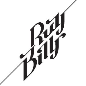 Rudy & Billy type logo design by logo designer Luka Balic
