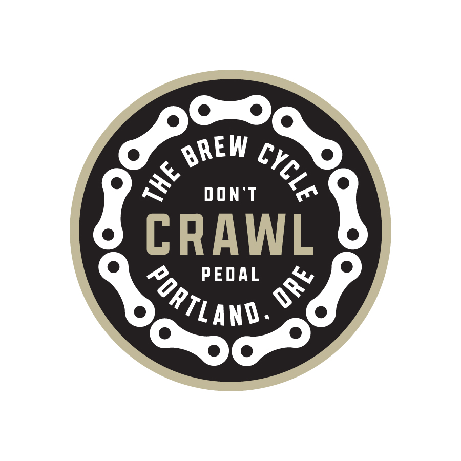 Brew Cycle Pub Crawl Badge