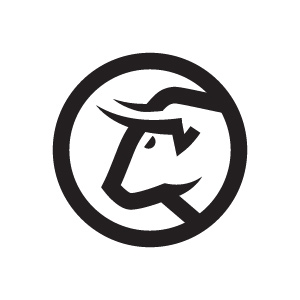 Bull logo design by logo designer Alex Rinker for your inspiration and for the worlds largest logo competition
