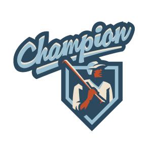 Champion 2 logo design by logo designer Fraser Davidson for your inspiration and for the worlds largest logo competition