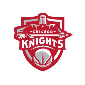 Chicago Knights logo design by logo designer Fraser Davidson for your inspiration and for the worlds largest logo competition