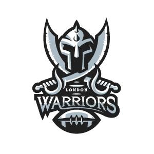 London Warriors logo design by logo designer Fraser Davidson for your inspiration and for the worlds largest logo competition