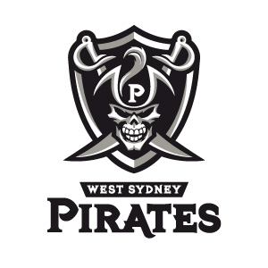 West Sydney Pirates 1 logo design by logo designer Fraser Davidson for your inspiration and for the worlds largest logo competition