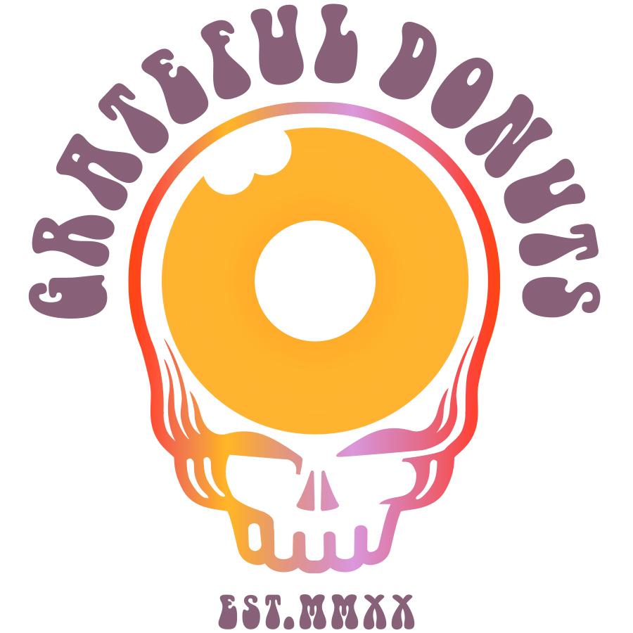 Grateful Donuts logo design by logo designer Blackdog Creative
