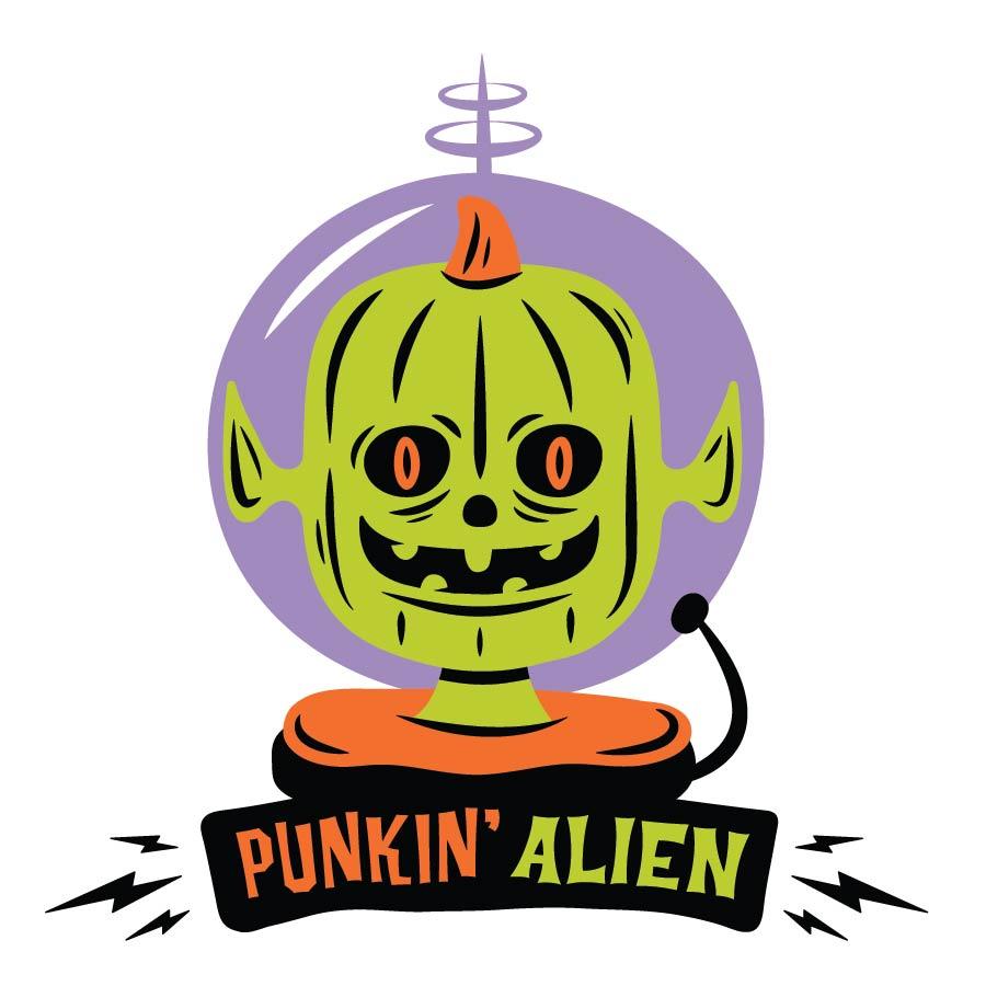 Strange Donuts -Punkin' Alien