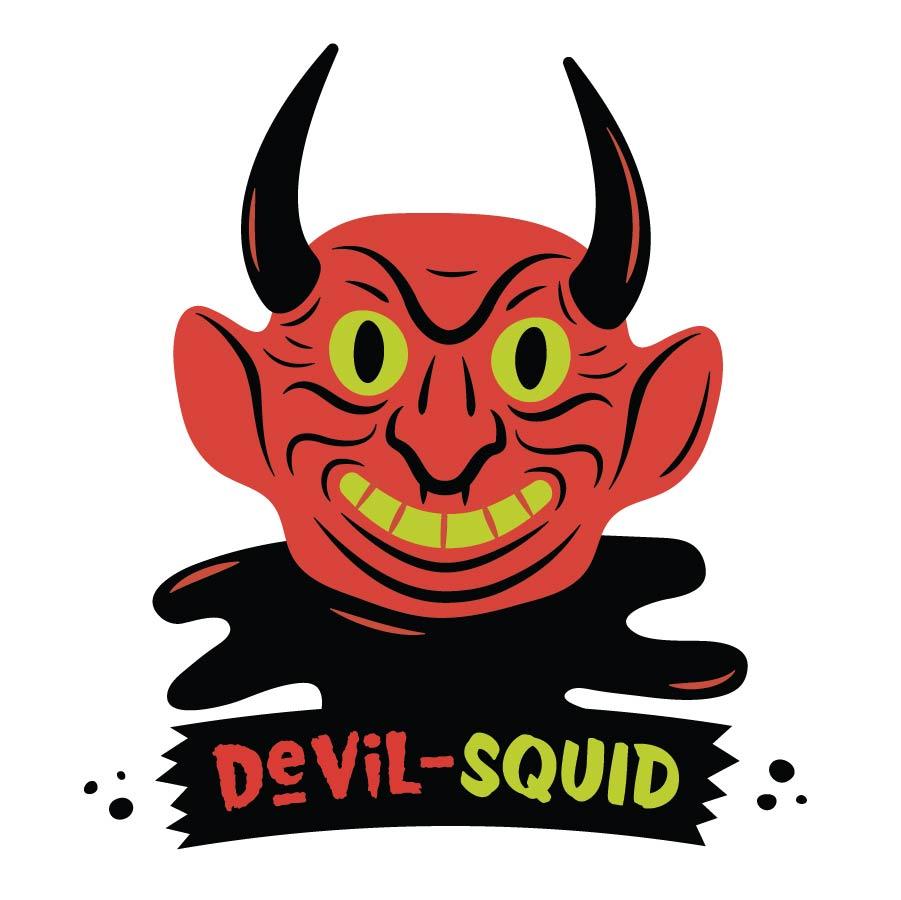 Strange Donuts -Devil-Squid