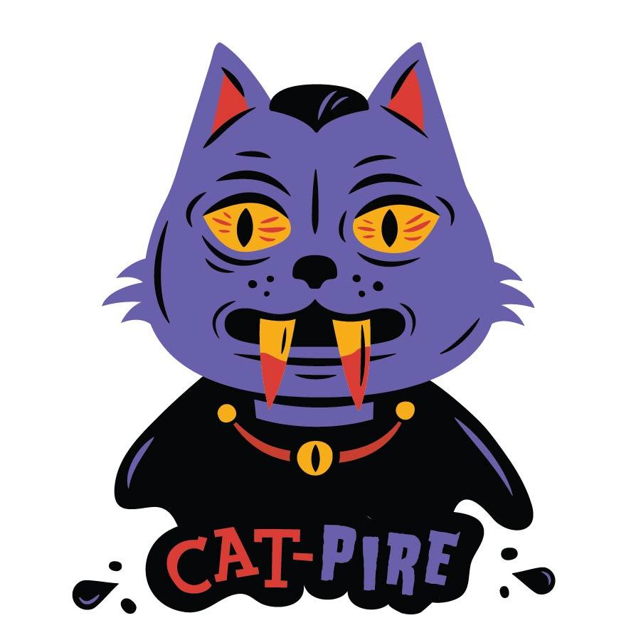 """Strange Donuts-"""" Cat-pire"""