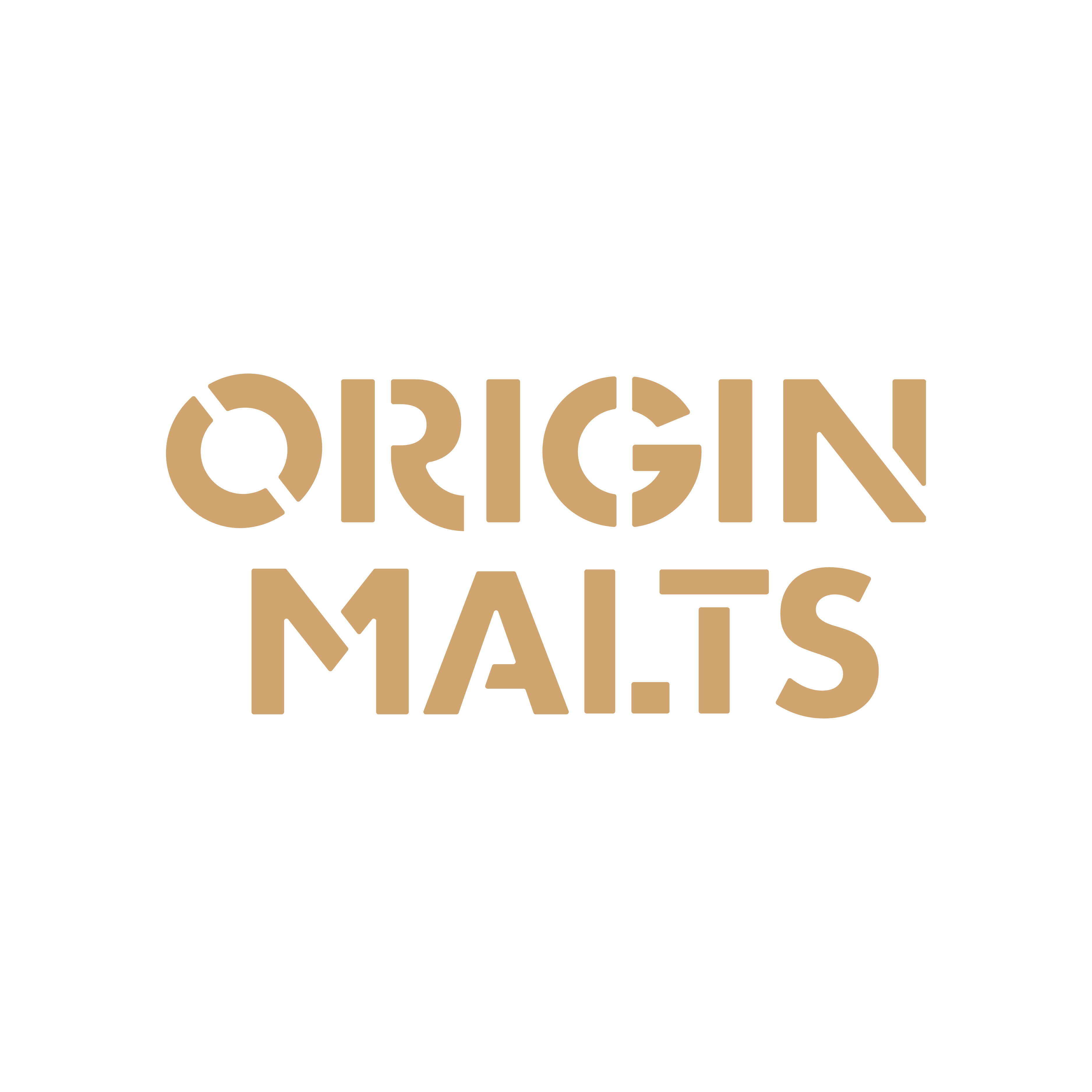 Origin Malts Wordmark