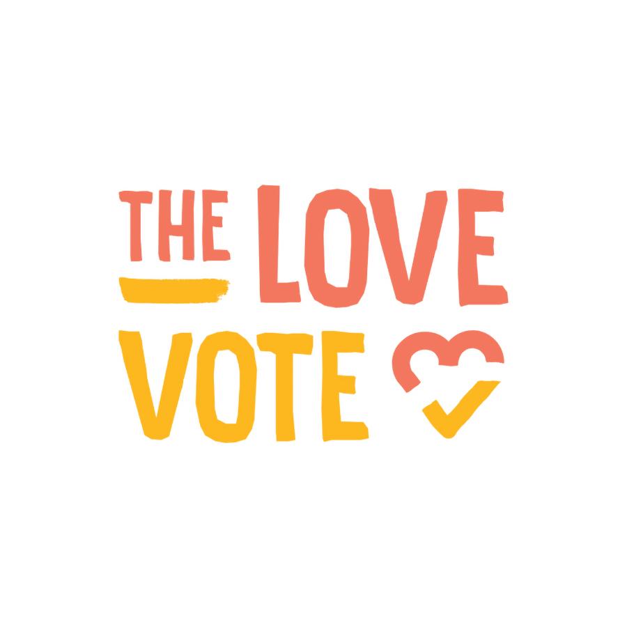The Love Vote logo design by logo designer Shanthony Exum Art & Design