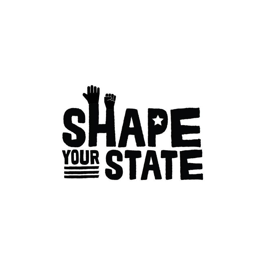 Shape Your State logo design by logo designer Shanthony Exum Art & Design