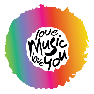 Love Music Love You logo design by logo designer Shadia Design for your inspiration and for the worlds largest logo competition
