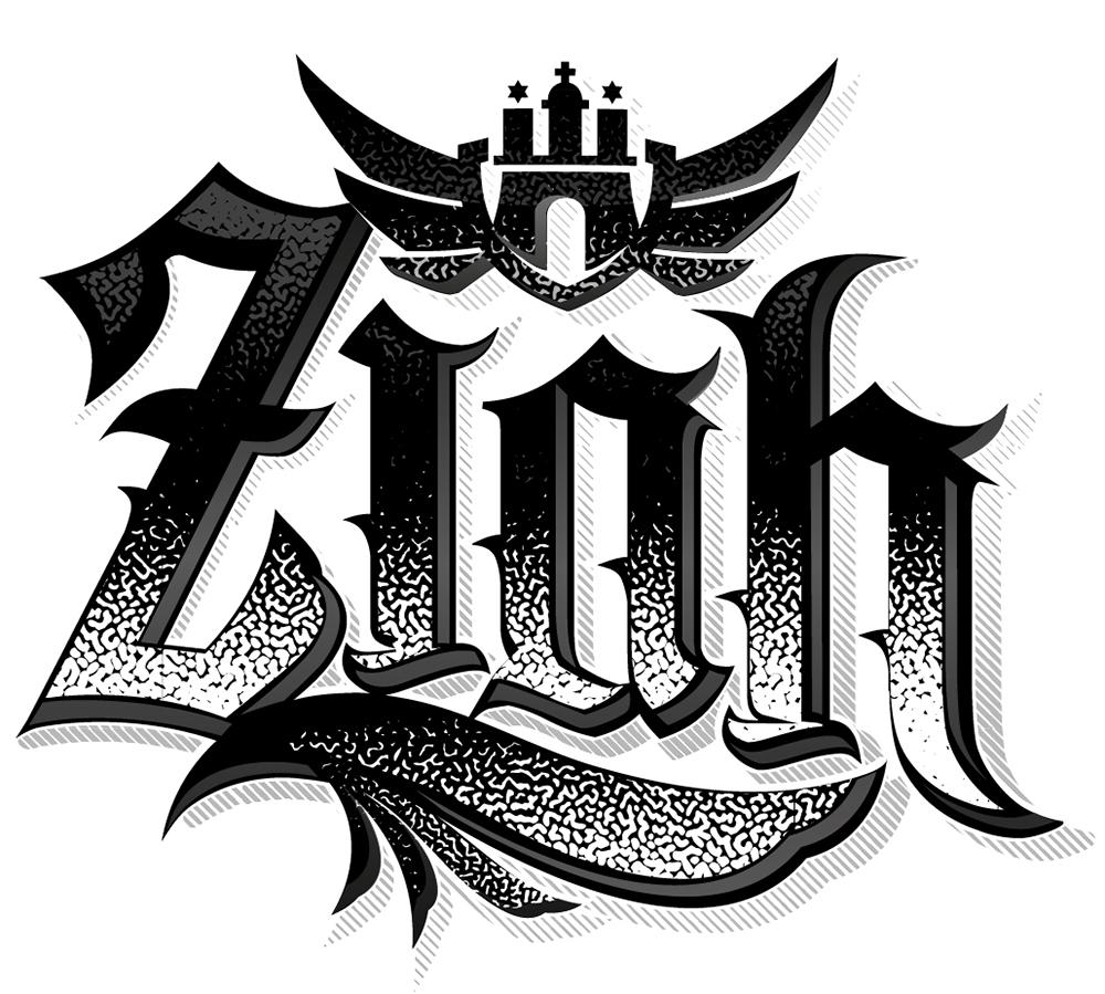 Ziah Logo logo design by logo designer donuts design