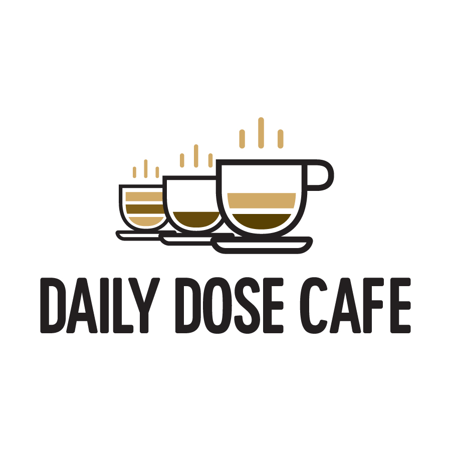 Daily Dose Cafe logo design by logo designer ZERO11 for your inspiration and for the worlds largest logo competition