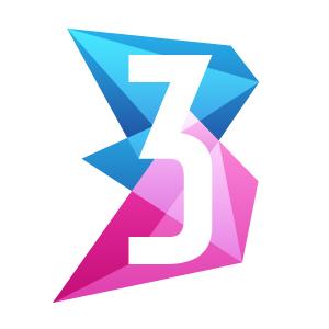 era3 logo design by logo designer Denys Kotliarov