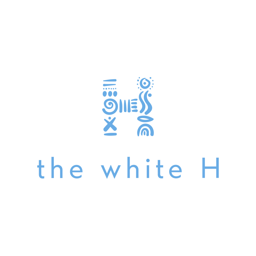 the white H