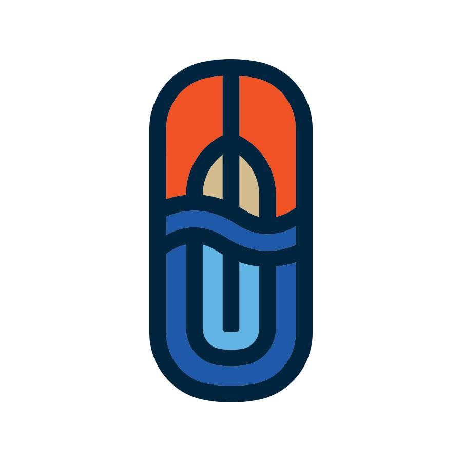 Frontenac Outfitters Crest logo design by logo designer Backcountry Branding
