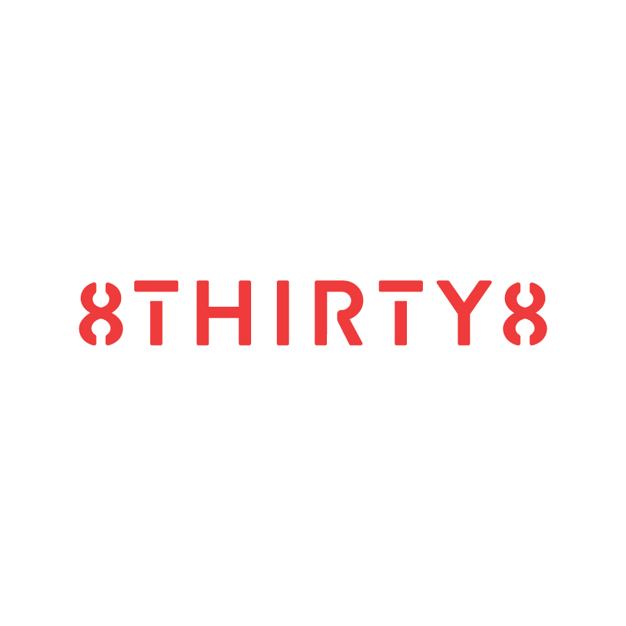 8THIRTY8 Wordmark