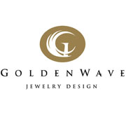 Golden Wave Jewelry Design logo design by logo designer Zakidesign, LLC.