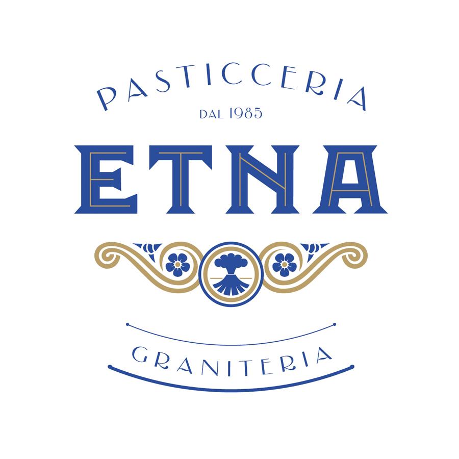 Etna Pasticceria Graniteria logo design by logo designer Raineri Design Srl for your inspiration and for the worlds largest logo competition