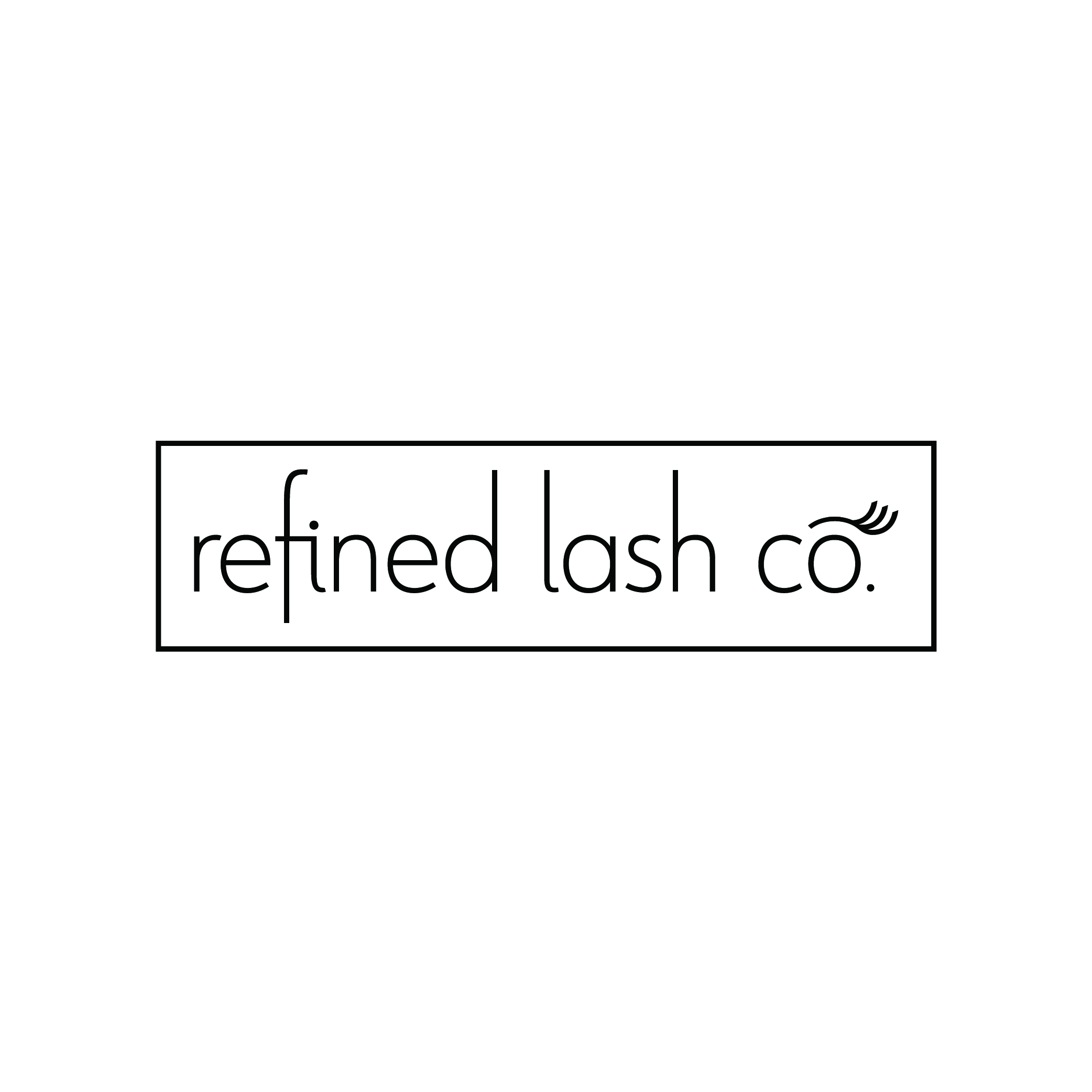 Refined Lash Co. - Full Logo