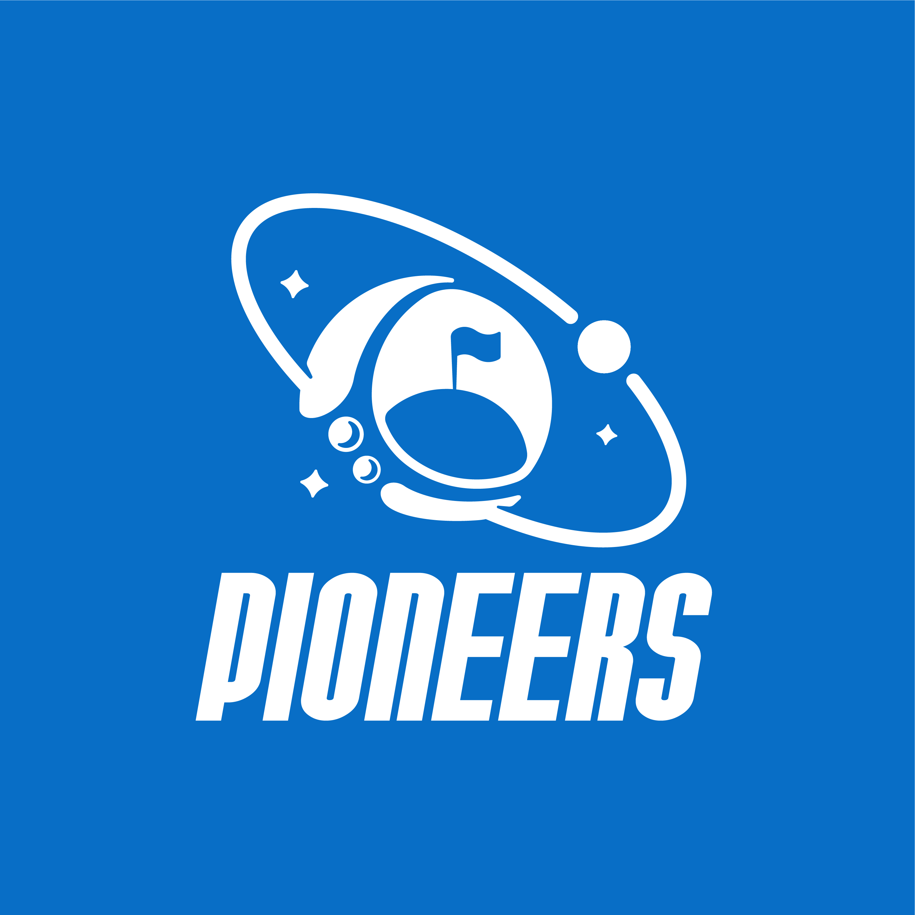 Pioneers logo design by logo designer TM Creative, Inc. for your inspiration and for the worlds largest logo competition