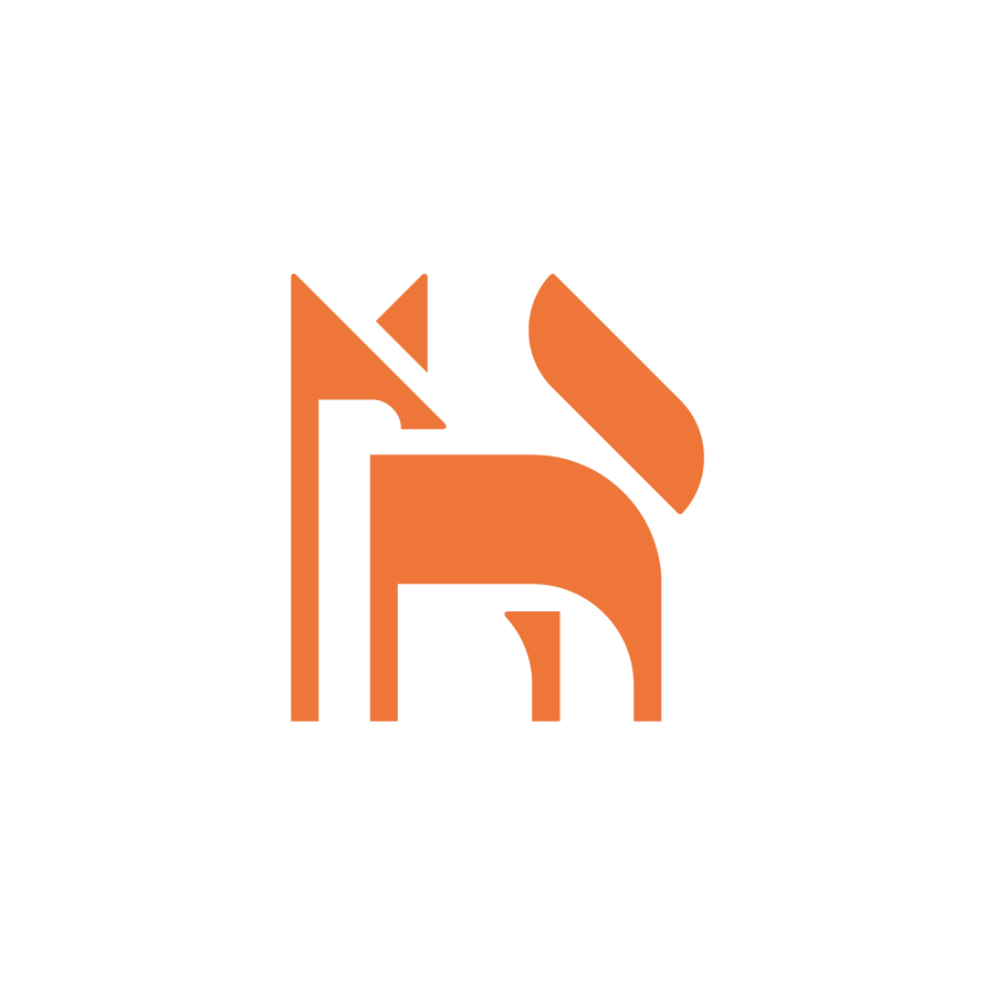 Fox logo design by logo designer Rokac