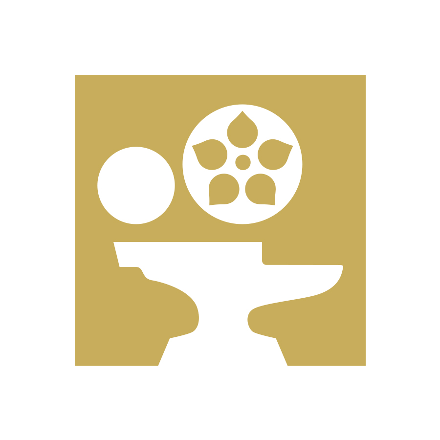 Hamilton Film Festival logo design by logo designer John Godfrey