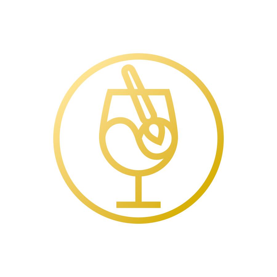 The Studio Paint Bar logo design by logo designer John Godfrey