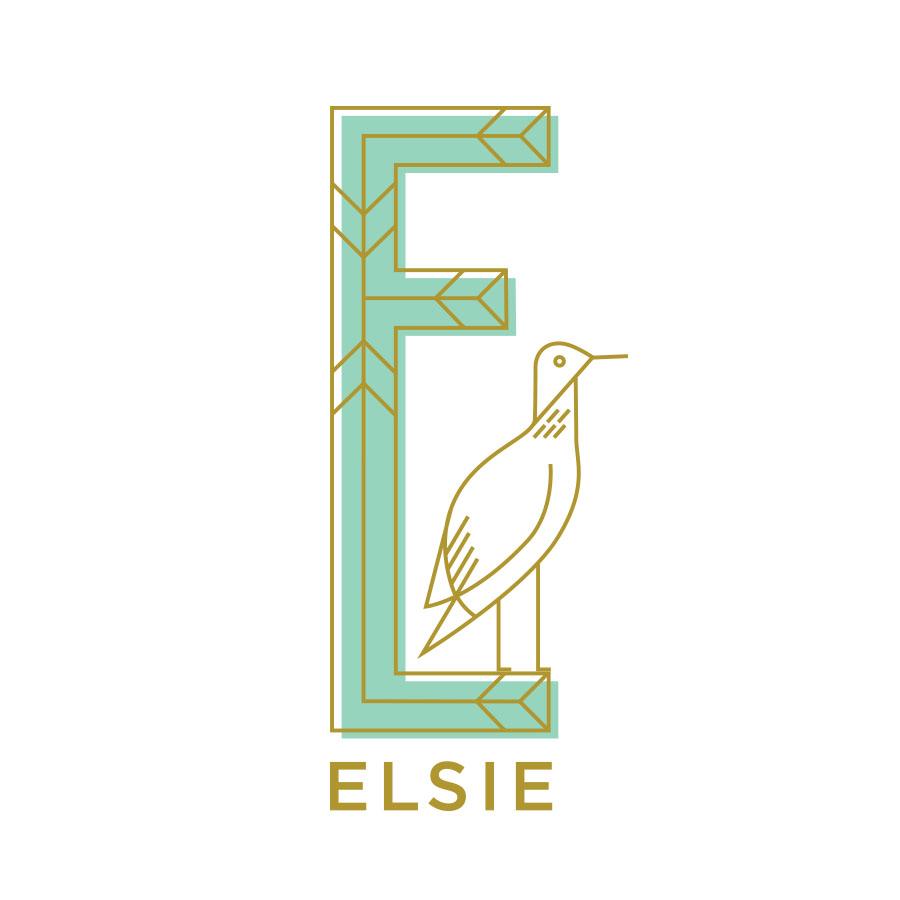 Elsie logo design by logo designer Distillery