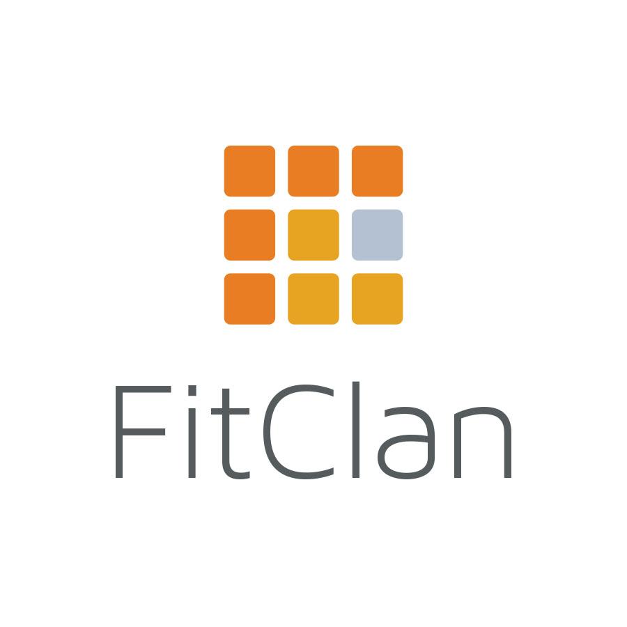 FitClan logo design by logo designer Distillery