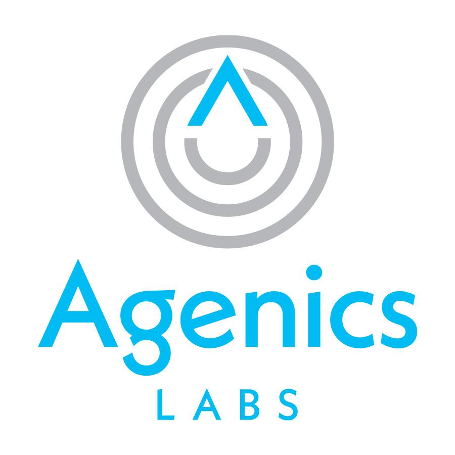 Agenics Labs logo design by logo designer Greta M. Schmidt + Miles McIlhargie