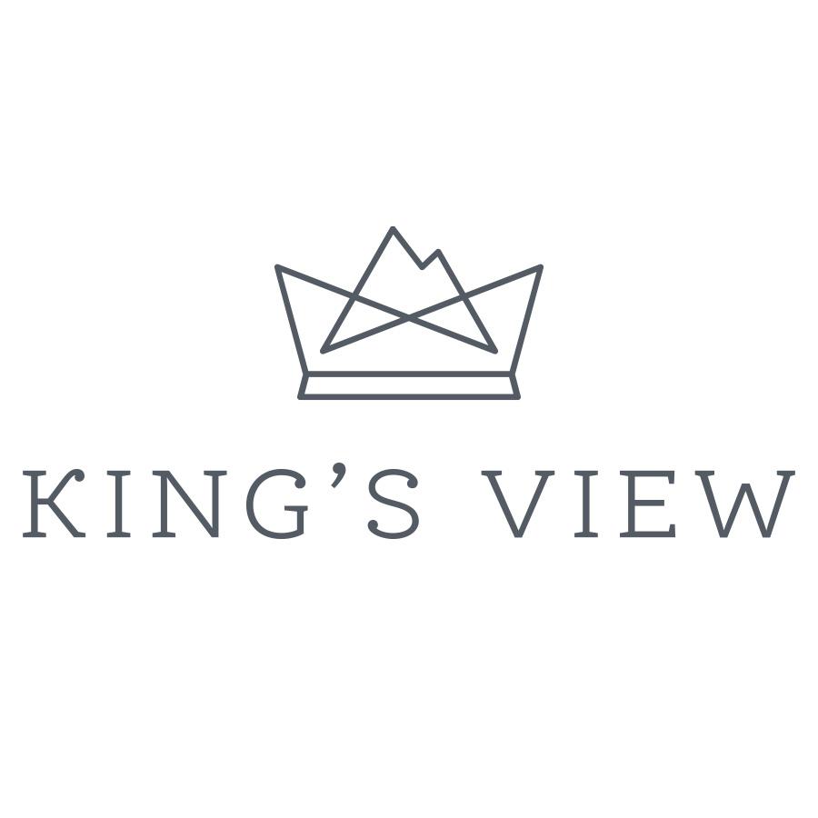 King's View logo design by logo designer Greta M. Schmidt + Miles McIlhargie