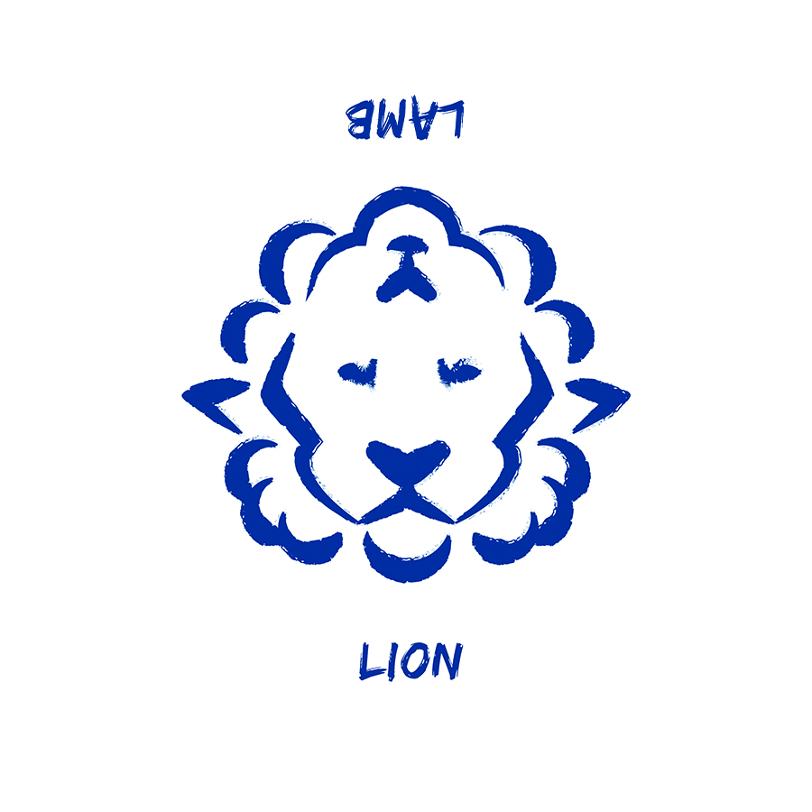 Lion turns into a Lamb logo design by logo designer jordan fretz design for your inspiration and for the worlds largest logo competition