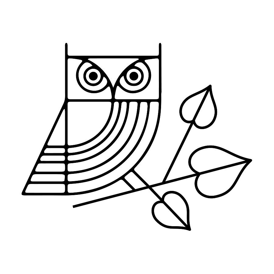 Owl Sitting on Linden Leaf logo design by logo designer Olio Studio