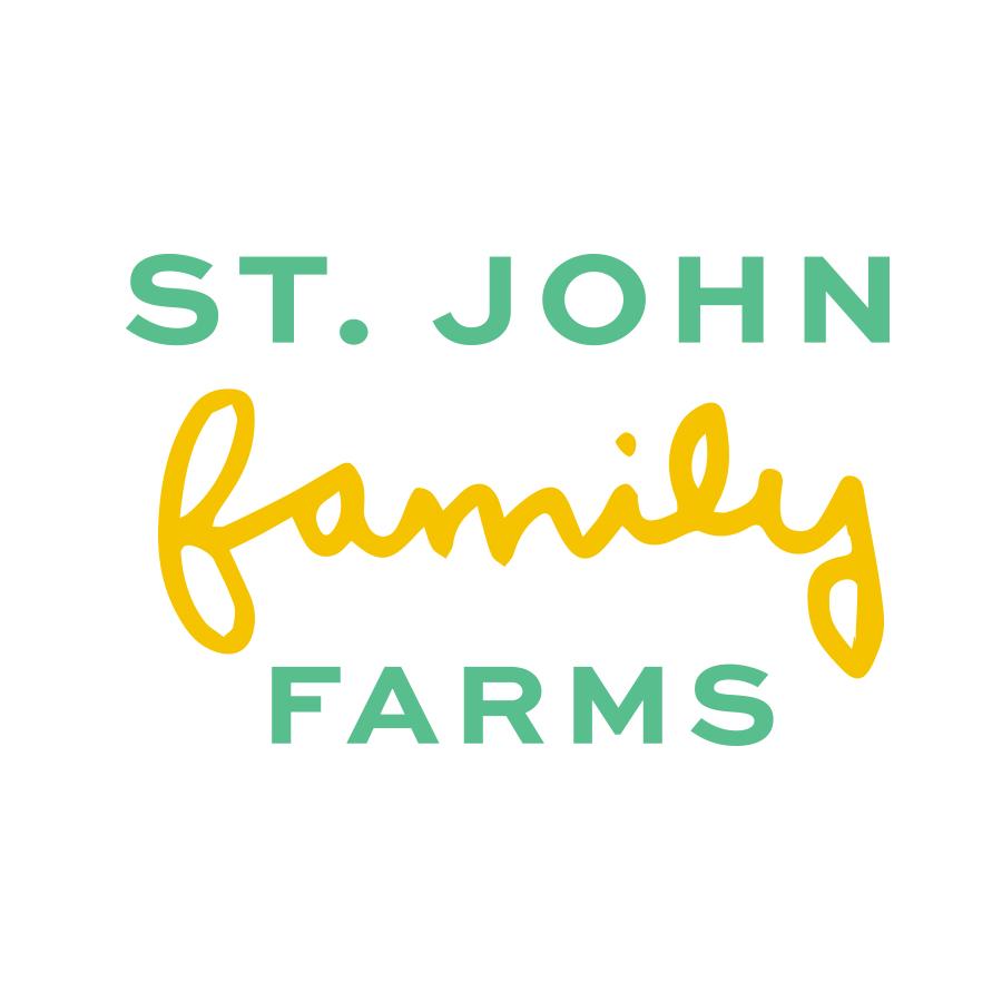 Saint John Family Farms logo design by logo designer Olio Studio