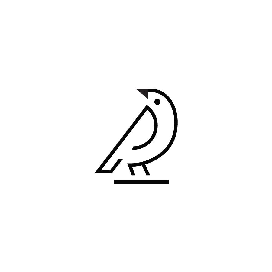 Bird logo design by logo designer tanmaygoswami.com