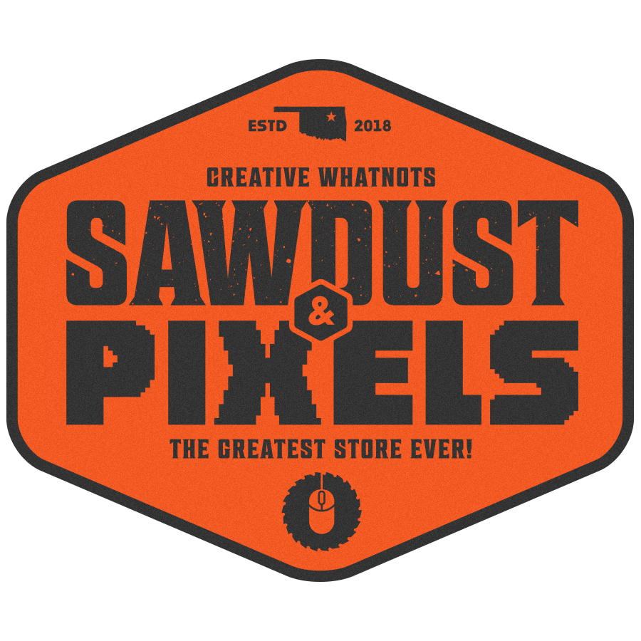 Sawdust and pixels