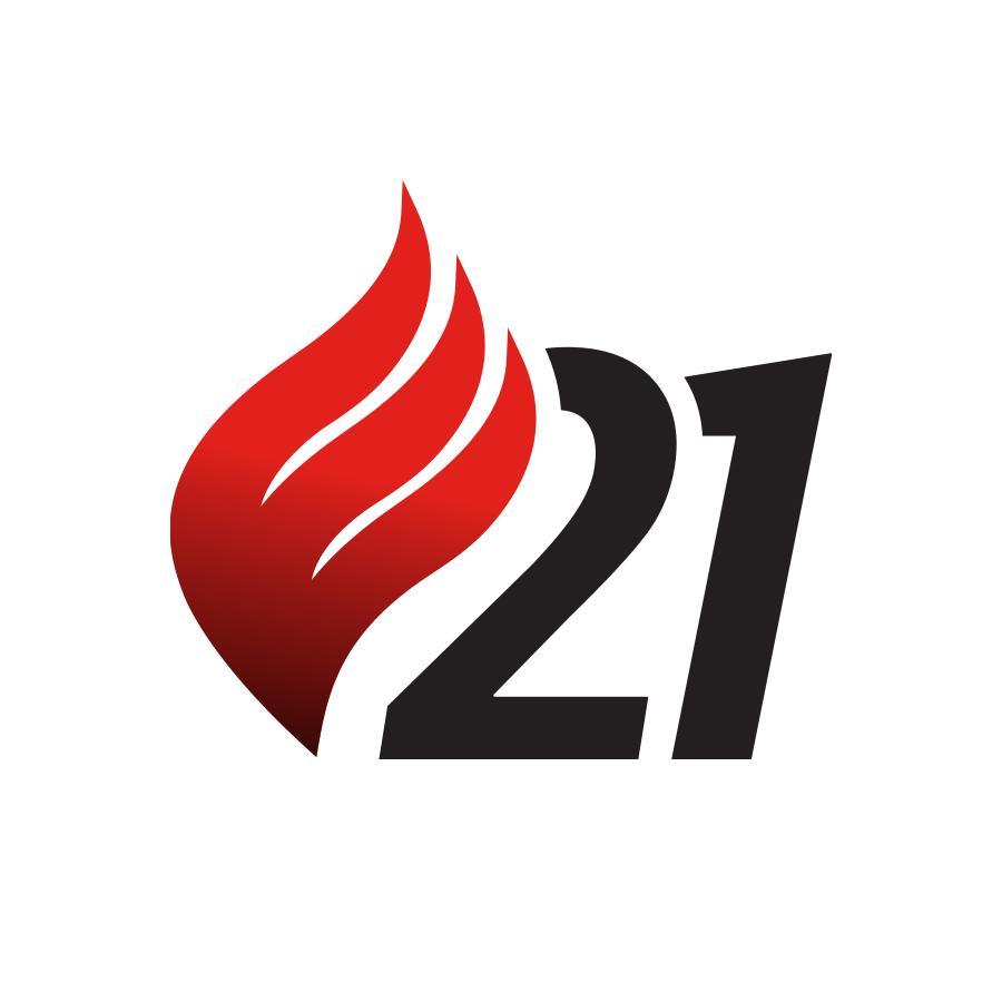 E21 logo design by logo designer Hampton Creative Inc.
