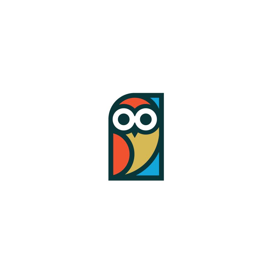 Owl logo design by logo designer inkstache