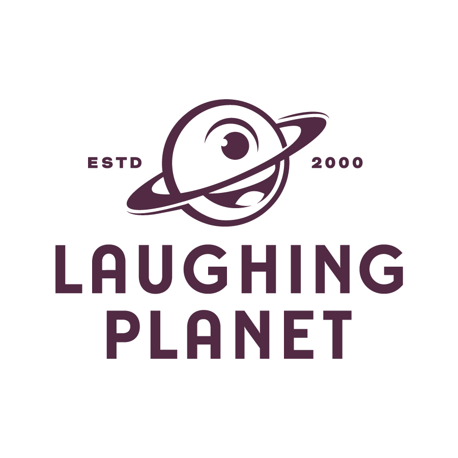 Laughing Planet - Primary with Tagline
